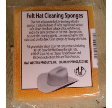 M&F Hat Cleaning Sponge