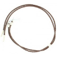 M&F Double S Brown Vinyl Stampede String