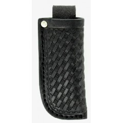 Nocona Leather Goods Black  Basketweave Knife Sheath