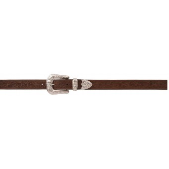 "Angel Ranch 1 1/2"" Brown Ladies' Western Basic Belt"
