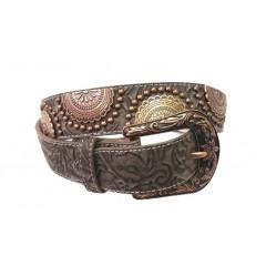 3D Copper Ladies Fashion Belt