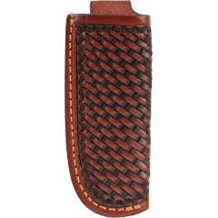 3D Tan Basketweave Large Knife Sheath