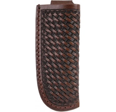 3D Chocolate Basketweave Medium Knife Sheath