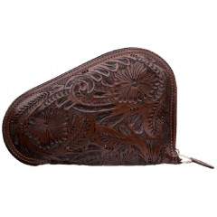 3D Chocolate Small Leather Gun Case