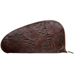 3D Chocolate Large Leather Gun Case