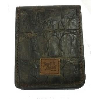 Tony Lama Brown Basic ID Card Holder