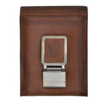 3D Brown Basic Bifold Wallet with Bottle Opener