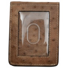 Tony Lama Brown Basic ID Card and Money Holder