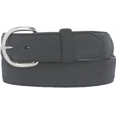 Leegin Silver Creek Collection Classic Black Mens Western Belt