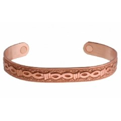 Sabona® Copper Barb Mens Magnetic Wristband