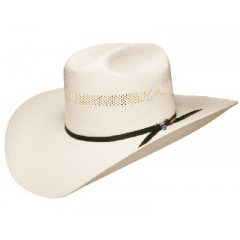 "Resistol Cowboy Hat ""Big Money"" Bangora  Straw Cowboy Hat"