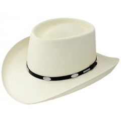 Stetson 10X Royal Flush Straw Cowboy Hat