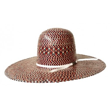 American Hat Company Red White And Blue Straw Cowboy Hat