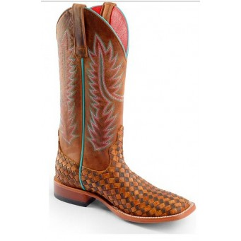 "Ladies Macie Bean ""Unbeweavable Solo Shot"" Cowgirl Boot"