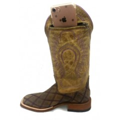 "Ladies Macie Bean ""Sidekick Sally"" Cowgirl Boot With Side Pocket"