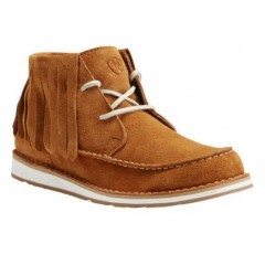 Ariat Ladies Harvest Suede Fringe Cruiser Shoe
