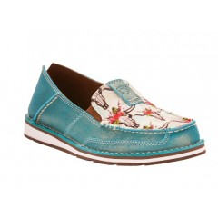 Ariat Ladies Turquoise Steer Vintage Cowgirl Cruiser