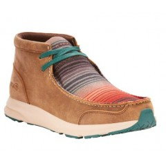 Ariat Ladies Serape Brown Spitfire Casual Shoe