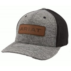 Ariat Grey and Black Flexfit Cowboy Hat