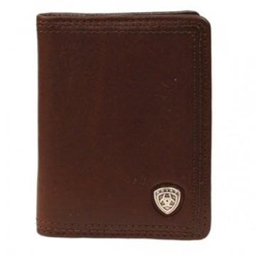 Ariat Brown Bi-Fold Leather Wallet