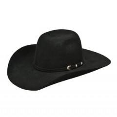 Ariat Cool Hand Luke Black Kids Felt Cowboy Hat