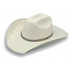 "Atwood Hat Company Hereford 15X Low Crown 4"" Brim Palm Leaf"