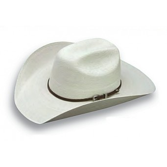 "Atwood Hat Company Hereford 30X Low Crown 4"" Brim Palm Leaf Hat"