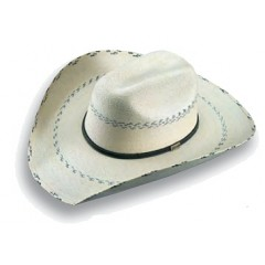 "Atwood Hat Company Hereford 7X Low Crown Pinto 4"" Brim Palm Leaf"