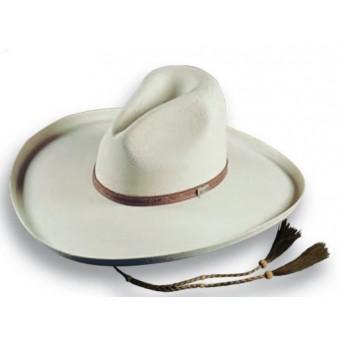 Atwood Hat Company La Ranchera White 4.5 Pencil Roll Brim Straw Hat