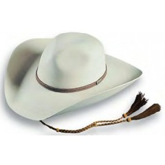 "Atwood Hat Company Caroline Too White 4"" Brim Palm Leaf Hat"
