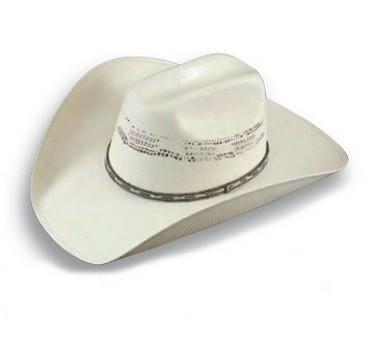 "Atwood Hat Company Hereford Bangora 4"" Brim Straw Cowboy Hat"