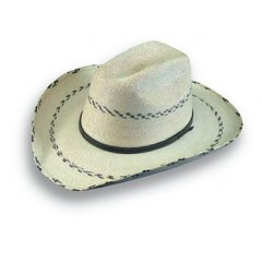 Atwood Hat Company Kids Black Pinto Straw Cowboy Hat
