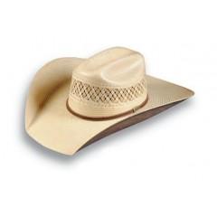 "Atwood Hat Company Maverick Two Tone Shantung 4.5"" Brim Straw Hat"