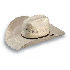 Atwood Hat Company Patriot Two-Tone Straw Cowboy Hat