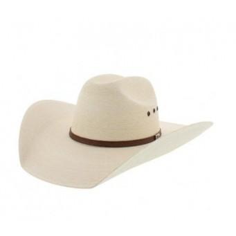 "Atwood Hat Company Whipporwhil  7X 4 1/4"" brim Palm Leaf Cowboy Hat"