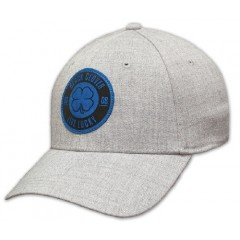 Black Clover Grey and Blue Lucky Stamp Mens Cap