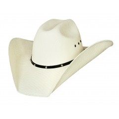 Bullhide Cowboy Hat Double Barrel Ace 50X Manhattan Straw Cowboy Hat JUSTIN MOORE COLLECTION