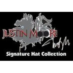 Bullhide Double Barrel Ace Straw Cowboy Hat JUSTIN MOORE COLLECTION