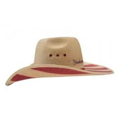 Charlie 1 Horse Cowboy Hat Freedom Isn't Free Palm Straw Cowboy Hat