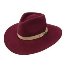Charlie 1 Horse Highway Burgundy Cowboy Hat