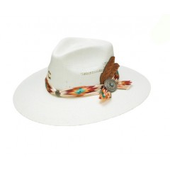 Charlie 1 Horse Navajo Palm Straw Hat