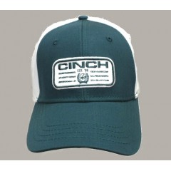 Cinch Dark Teal Snap Back Cowboy Cap
