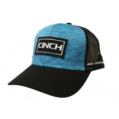 Cinch Black and Blue Snap Back Cowboy Cap