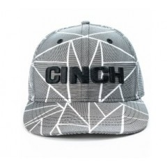 Cinch Black and Grey Fitted Cowboy Cap