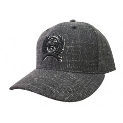 Cinch Black And White Weave Snapback Cowboy Cap