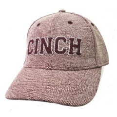 Cinch Burgundy Fitted Cowboy Cap