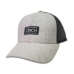 Cinch Youth Grey and Black Mesh Back Cowboy Cap