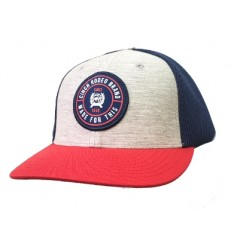 Cinch Youth Red Blue Grey Snap Back Cowboy Cap