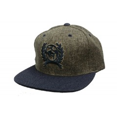 Cinch Dark Grey, Tan, and Navy Snap Back Cowboy Cap