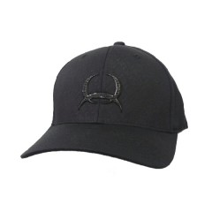 Cinch Black on Black Flex Fit Cowboy Cap